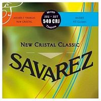 Savarez 540CRJ  New Cristal Classic Red/ Blue medium-high tension струны для кл. гитары нейлон