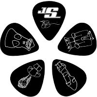 Planet Waves 1CWH2-10JS  медиатор Joe Satriani 10 шт. в упаковке, light