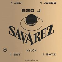 Savarez 520J  CARTE JAUNE Traditional Yellow very high tension струны для кл. гитары нейлон