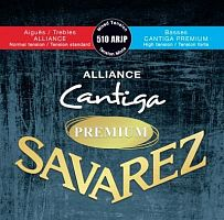 Savarez 510ARJP  Alliance Cantiga Red/ Blue Premium mixed tension струны для классической гитары