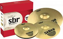 "Sabian SBr Performance Set  набор тарелок (14""HH, 16""CR, 20""RD)"