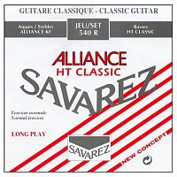 Savarez 540R  Alliance HT Classic Red standard tension струны для кл. гитары нейлон