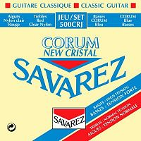 Savarez 500CRJ  Corum New Cristal Red/ Blue medium-high tension струны для кл. гитары нейлон