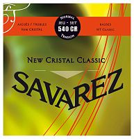 Savarez 540CR  New Cristal Classic Red standard tension струны для кл. гитары нейлон